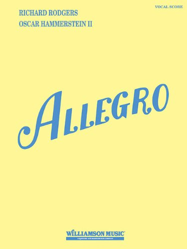 Allegro (Vocal Score) by Hal Leonard