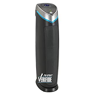 Germ Guardian True HEPA Filter Air Purifier, UV Light Sanitizer, Eliminates Germs, Filters Allergies, Pets, Pollen, Smoke, Dust, Mold, Odors, Quiet 28 inch 5-in-1 Air Purifier for Home AC5250PT