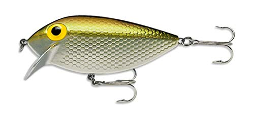 Storm Thin Fin 06 Fishing lure (Metallic Silver/Gold, Size- 2.5)