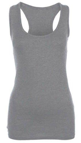 RIDDLEDWITHSTYLE - Camiseta sin mangas - para mujer gris claro