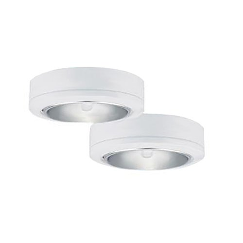 Sea Gull Lighting 9888-15 Ambiance LX Two-Light Plug-In Disk Kit, (12 Black Ambiance Housing)