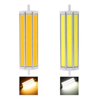 Best to Buy 2-Pack R7s LED Bulb 118mm 15Watt COB Warm White 2700K,- for Double Ended j Type Tungsten Halogen Bulb Replacement