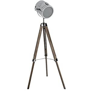Nauticalmart adjustable tripod spotlight floor lamp for Multi spotlight floor lamp