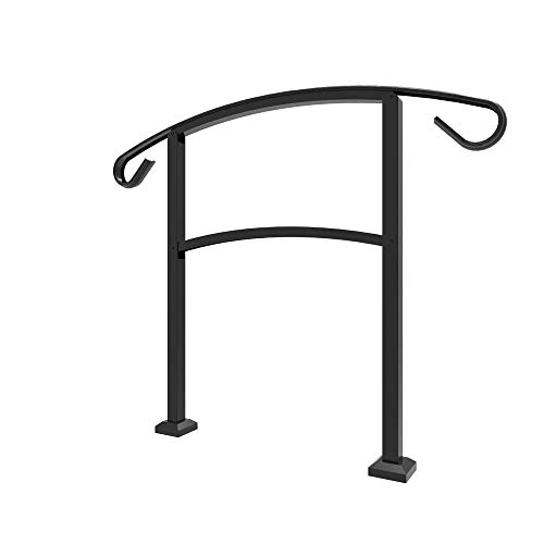Railing Now - Triad 3FT Transitional Handrail (Matte Black)