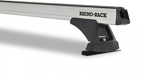 Rhinoラック2011 – 2017ジープグランドチェロキー4dr Heavy Duty屋根ラックシルバーja0581 B01N32JQ0E
