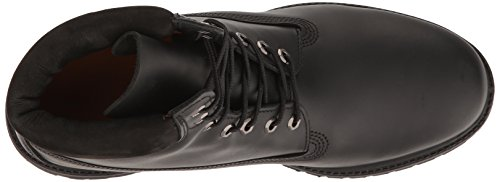 Homme Timberland Classiques Noir Premium 6 Smooth Black Bottes inch Xr4OX1