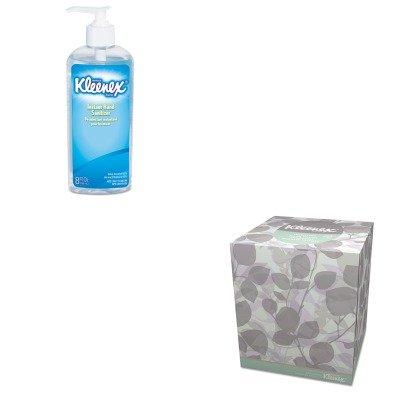 KITKIM21272KIM93060EA - Value Kit - Kimberly Clark 21272 Kleenex Natural Boutique Facial Tissue, White (KIM21272) and KIMBERLY CLARK KLEENEX Instant Hand Sanitizer (KIM93060EA)