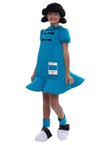 Charlie Brown Lucy Halloween Costumes (Peanuts: Lucy Deluxe Costume for)