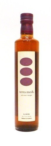 Terra Medi Greek Red Wine Vinegar - 17 oz (Pack of 2)