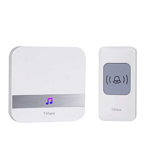 Tiffane Wireless Door Entry AlarmElectronic Door Sensor ChimeOperating at 1000 Feet52 Chimes and 4 Volume Levels