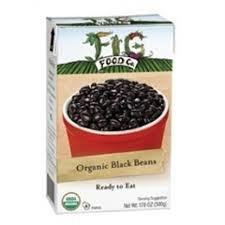 Fig Food Co. Organic Black Beans 15 oz (Pack of 6)