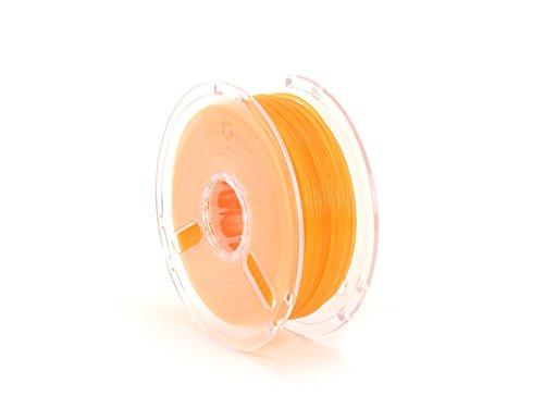 LulzBot PolyLite PLA Polymaker Filament, 2.85 mm, 1 kg Reel, Translucent Orange