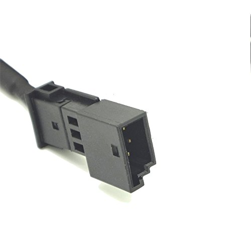 HAIN@Car Female 3.5MM AUX Input Adaptor CD Changer Cable for BMW E46