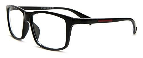IG Simple Sleek Comfortable Big Clear Lens - Lenses With Glasses Big