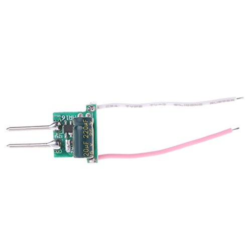 Kocome 1-3W MR16 Low Voltage Power Supply LED Driver Convertor Transformer Constant Current 300mA DC 12V