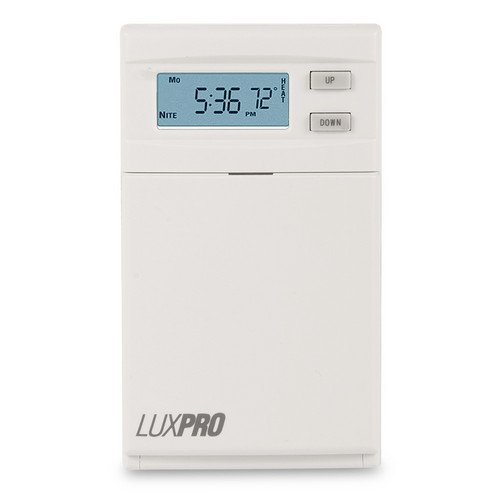 LuxPro Digital Programmable Line Voltage Thermostat