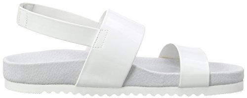 Sandales Bout Gladiator Blanc Femme P1 Ouvert Blanc q5ZnwEnR8