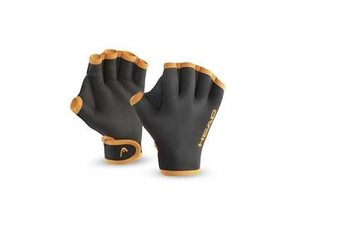 HEAD Erwachsene Schwimmhandschuhe Swim Glove, Black, S, 455007BKS