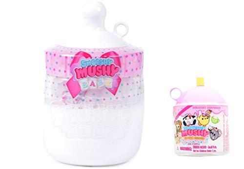 Girls Kids Play Fun Playtime Smooshy Mushy Babies Bottle Series 1 Bonus Sprinkles Donuts & Do Dat Donuts Pink   B07H6SZYMS