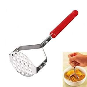 BoatShop Stainless Steel Potato Mould Vegetable Fruit Crusher Kitchen Tool