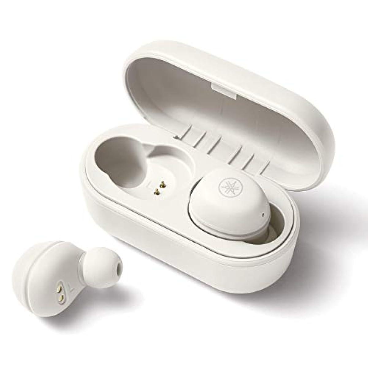 [해외] 야마하 완전 wireless 이어폰 TW-E3A(W) : 리스닝 케어 /BLUETOOTH /최대6+18시건 재생 /생활 방수IPX5상당 /전용 어플케이션 대응 /AACAPTX대응 /마이크 탑재 화이트