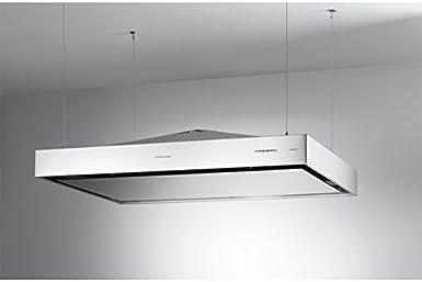 Electrolux: Isla Campana, diseño, recirculación, cromo, iusl1290cn: Amazon.es: Grandes electrodomésticos