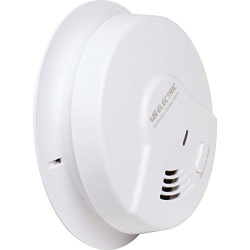 SET OF 2 -USI 10 Year Sealed Battery Backup Universal Smoke Sensing Technology Alarm109858