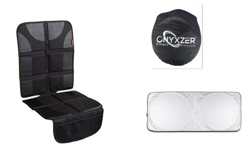 ONYXZER Car Seat Protector with Sunshade