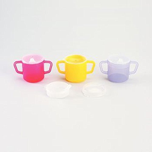 (Two Handle Mugs Yellow 8 Oz)