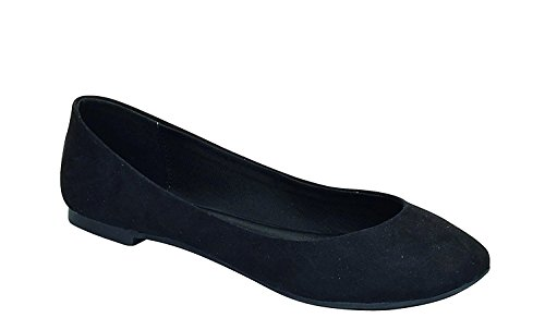 Breckelles Womens Pointed Ballet Flats product image
