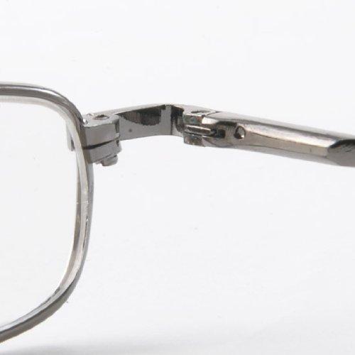 THG 2-Pack vollrandrahmen Lesehilfe mit kompaktem Brillenetui +2.00 dpt. wählbar 5qPnbV