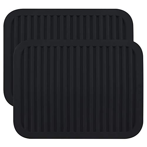 Smithcraft Silicone trivet Mat for Hot Pan and Pot Hot Pads Counter Mat Heat Resistant Table Dish Drying Mat or Placemats