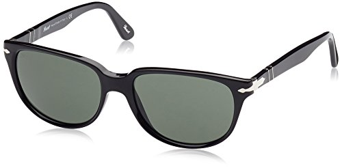 Persol Sunglasses PO3104S 901431 Black Green 57 18 - Handmade Sunglasses Persol