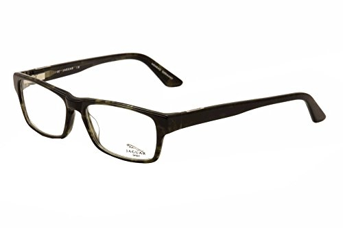 Jaguar Titanium Eyeglass Frames : Jaguar Men Eyeglasses 39505 510 Brown/Horn Titanium Full ...