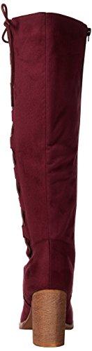 Joe Browns Striking Side Lace Boots - Botas Mujer Vino Tinto) (Wine)