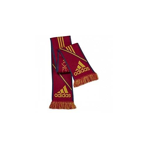 Homme SCARF Echarpe Adidas 3S FEF Rouge Football Espagne fXBSxP