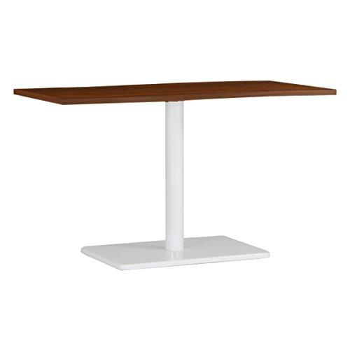 arne ダイニングテーブル 机 幅120 奥行き60 高さ70 日本製 デスク 食卓テーブル デザインテーブル River12060D BR×WH B0785SNNWM 高さ:70cm/天板サイズ:120×60|BR×WH BR×WH 高さ:70cm/天板サイズ:120×60