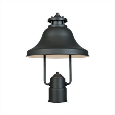Bayport 11'' Post Lantern in Bronze by Designer Fountain