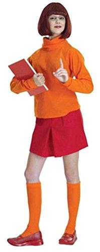 Standard Velma Costume - Adult Scooby Doo