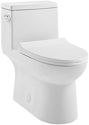 Swiss Madison SM1T125 Daxton One Piece Elongated Toilet 128 GPF