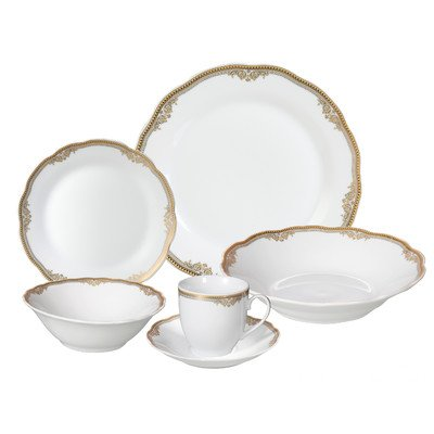 Catherine 24 Piece Porcelain Dinnerware Set Review