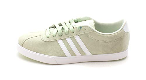 1d95c6984 Galleon - Adidas Womens Courtset Low Top Lace Up Running