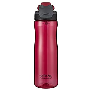 AVEX Brazos Autoseal Water Bottle, 25oz, Berry