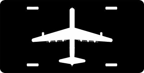 B36 Convair Strategic Bomber top view License Plate