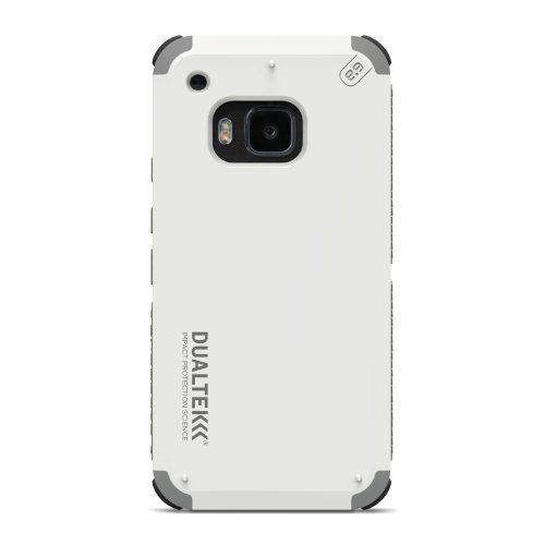 - PureGear DualTek Case for HTC One M9 - Arctic White