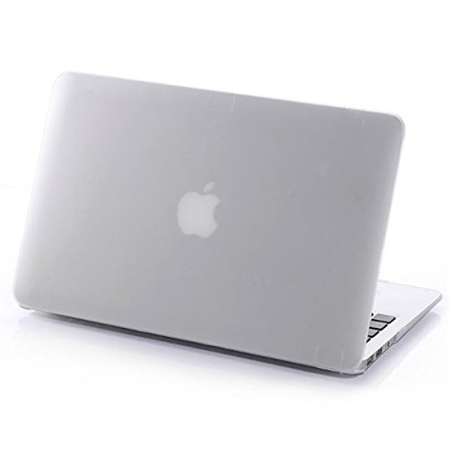 Gefrostet Matte Hard Cover Laptop SchutzhŸlle fŸr das Apple MacBook Retina 13,3 Zoll rot