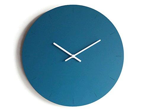 Particolare Orologio Da Parete Design Moderno.Diametro 40 Cm Grande Orologio Da Parete Tondo Silenzioso Colorato