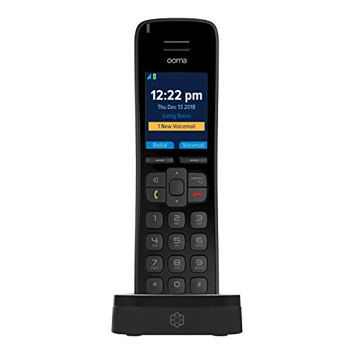 Ooma HD3 Handset - Black. Works with Ooma Telo. ()
