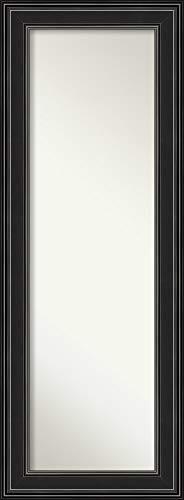Amanti Art Full Length Mirror | Ridge Black Mirror Full Length | -