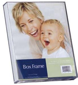 mcs original clear acrylic box picture frame for a 8 x 12